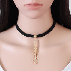 Beautiful Fashionable Simple Pretty Rubber Rope Women's Necklaces