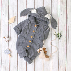 Baby Rabbit Animal Solid One-piece