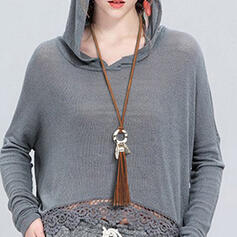 Exquisite Chic Charming Fox Attractive Alloy With Tassels Women's Ladies' Girl's Necklaces