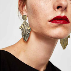 Exquisite Chic Charming Fox Attractive Metal With Leaf Women's Ladies' Girl's Earrings