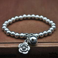Exquisite Chic Charming Fox Attractive Alloy With Beads Women's Ladies' Girl's Bracelets