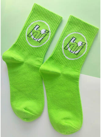 Letter attractive/Comfortable/Simple Style Socks