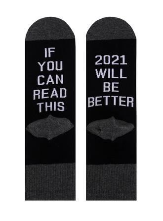 Letter attractive/Warm/Comfortable/Simple Style Socks