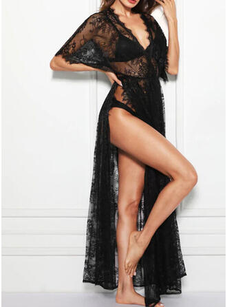 Lace Lace Sexy Slip Cover Up